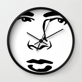 Old Hollywood - James Byron Dean Wall Clock