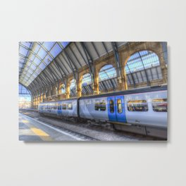 Kings Cross Station London Metal Print