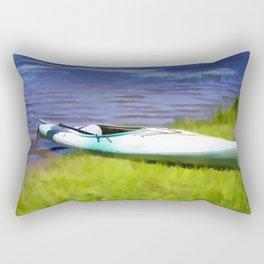 Kayak in Upstate NY Rectangular Pillow