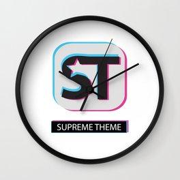 Supreme WordPress Theme Wall Clock