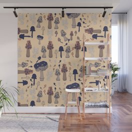 I love fall and mushrooms Wall Mural