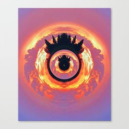 A World Within A World - The Eye Canvas Print