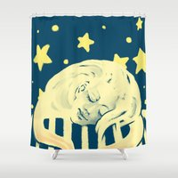 monkey Shower Curtains featuring Monkey by Alexandra Duma D.