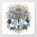 Paladin - Vintage D&D Tattoo by davidmackenzie