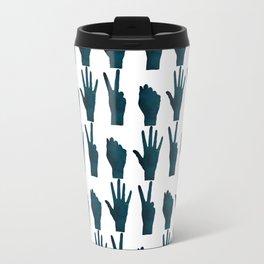 Rock–Paper–Scissors Travel Mug