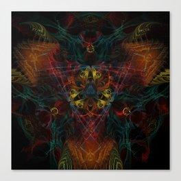 Unlock the Symbols Canvas Print