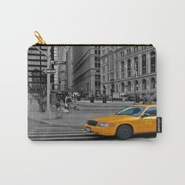 NYC Yellow Cabs Trinity Place - USA Carry-All Pouch