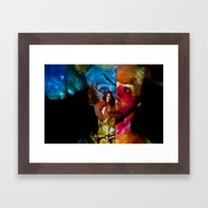Contrast: Projection Series #13 Framed Art Print