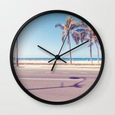 beach road Wall Clock