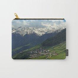 Val di Mazia in Alps, Italy Carry-All Pouch
