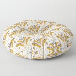 La Maison des Papillons Blush Floor Pillow