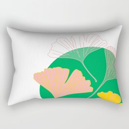 Ginkgo - the leaf of life Rectangular Pillow