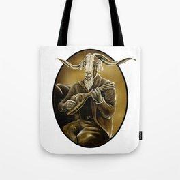 Caprine Troubadour Tote Bag