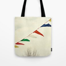 winter happiness Tote Bag