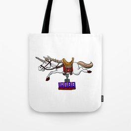 illustration of mechanical unicorn Tote Bag