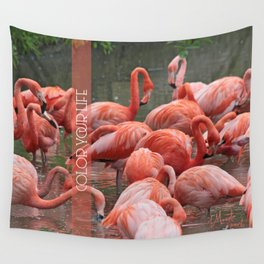Color your life Wall Tapestry