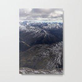 Southern Alps, NZ Metal Print