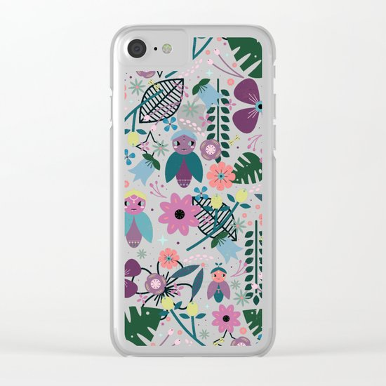 Creatures Clear iPhone Case