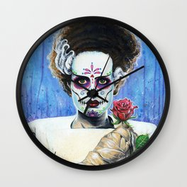BRIDE OF THE DEAD Wall Clock