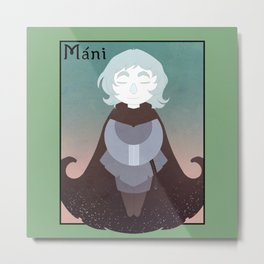 Mani Metal Print