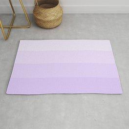 Lavender Gradient Stripes Rug