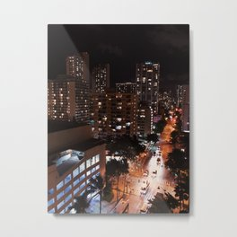 Island City Metal Print