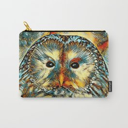AnimalArt_Owl_20170922_by_JAMColorsSpecial Carry-All Pouch