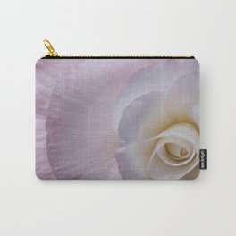 Powderpuff pink begonia Carry-All Pouch