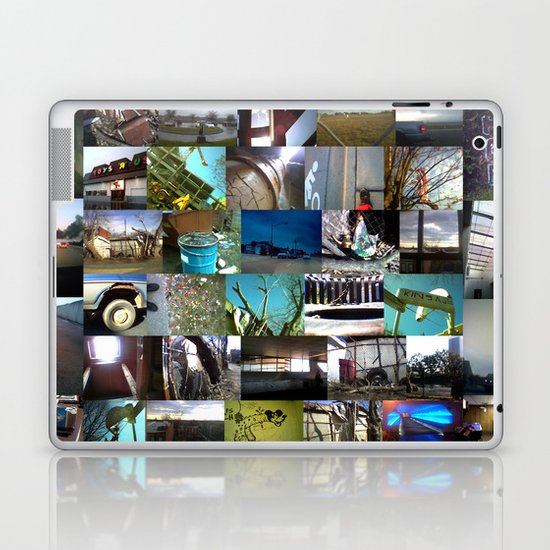 """good kid, m.A.A.d city"" by Cap Blackard Laptop & iPad Skin"