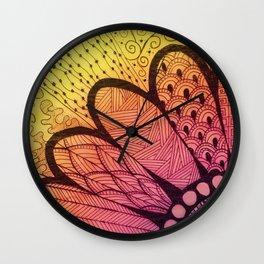 Shaded Wall Clock