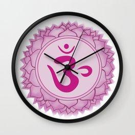 Sahasrara Crown Chakra Wall Clock