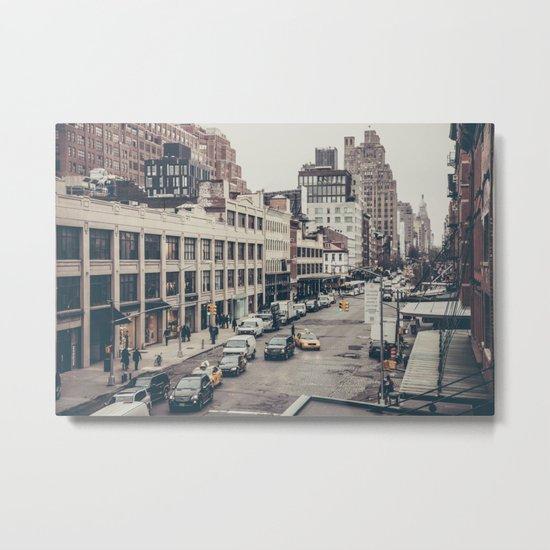 Tough Streets - NYC Metal Print