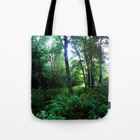 once upon a  time Tote Bags featuring Once upon a time  by Françoise Reina