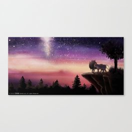 'Who is the strongest?' Illustration 9 (Original) Canvas Print