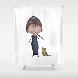 Audrey Shower Curtain
