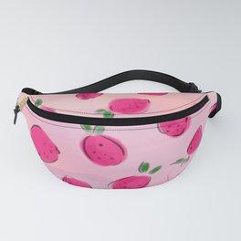 Juicy tropical pink mango Fanny Pack