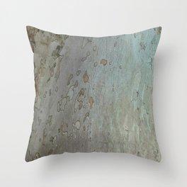 tree bark I. Throw Pillow
