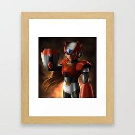 Zero Revived Framed Art Print