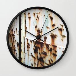 Oxidized Wall Clock