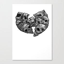 WuSkulls Canvas Print