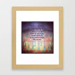 Corner of the Sky Framed Art Print
