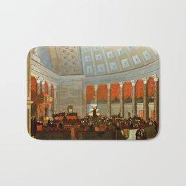 Samuel Morse The House of Representatives Bath Mat