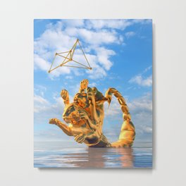 Allow Your Inner Child To Play Metal Print