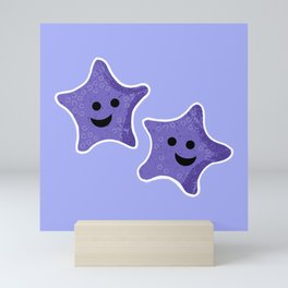 Starfish Friends Mini Art Print