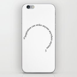 Wall Clock - 9 to 5 - Inspiration iPhone Skin
