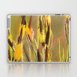 GLOWING GRASS Laptop & iPad Skin