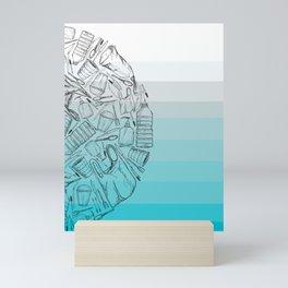 Half A World Of Plastic. Mini Art Print