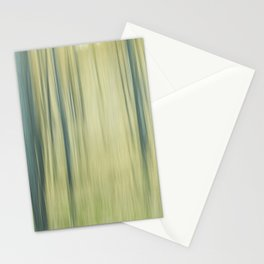 Pure woods blur Stationery Cards