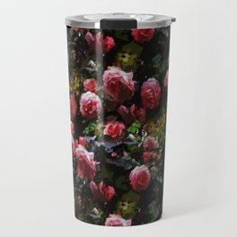 Midnight Rose Garden Travel Mug