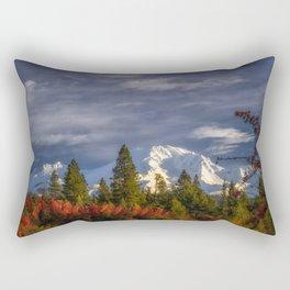 Waking Up Rectangular Pillow